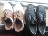 Dunlop and Footjoy size 9 golf shoes like new