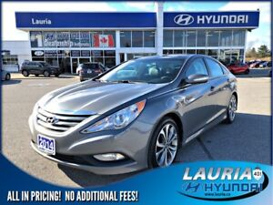 2014 Hyundai Sonata SE - Leather / Dual sunroof
