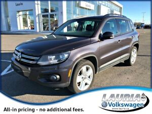 2016 Volkswagen Tiguan Special Edition 4Motion AWD
