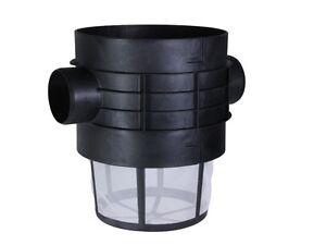 Zisternenfilter Plurafit mit Filterkorb Regenwasserfilter Zisterne Intewa