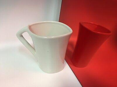Red Mirror Acrylic Plexiglass Sheet 18 X 5.5 X 5.5