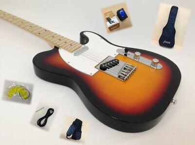 Haze Solid Body Electric Guitar,Sunburst,S-S Pickups+Free Bag,Strap |SEG-287BS|