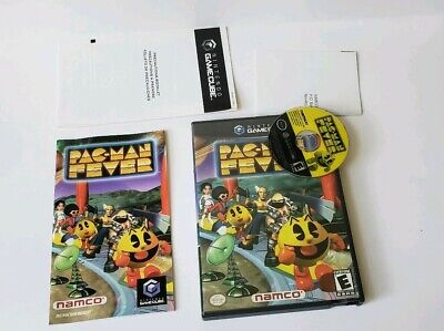 Pac-Man Fever Nintendo GameCube COMPLETE VIDEO GAME