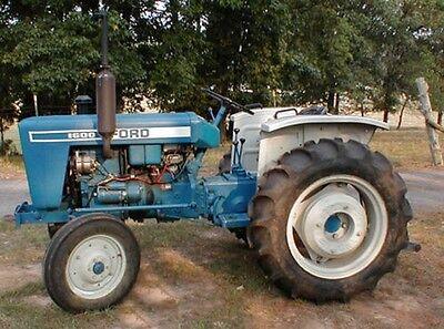Ford Tractors 1500 510 1700 1710 1900 1910 2110 Repair Shop Service Manual Cd