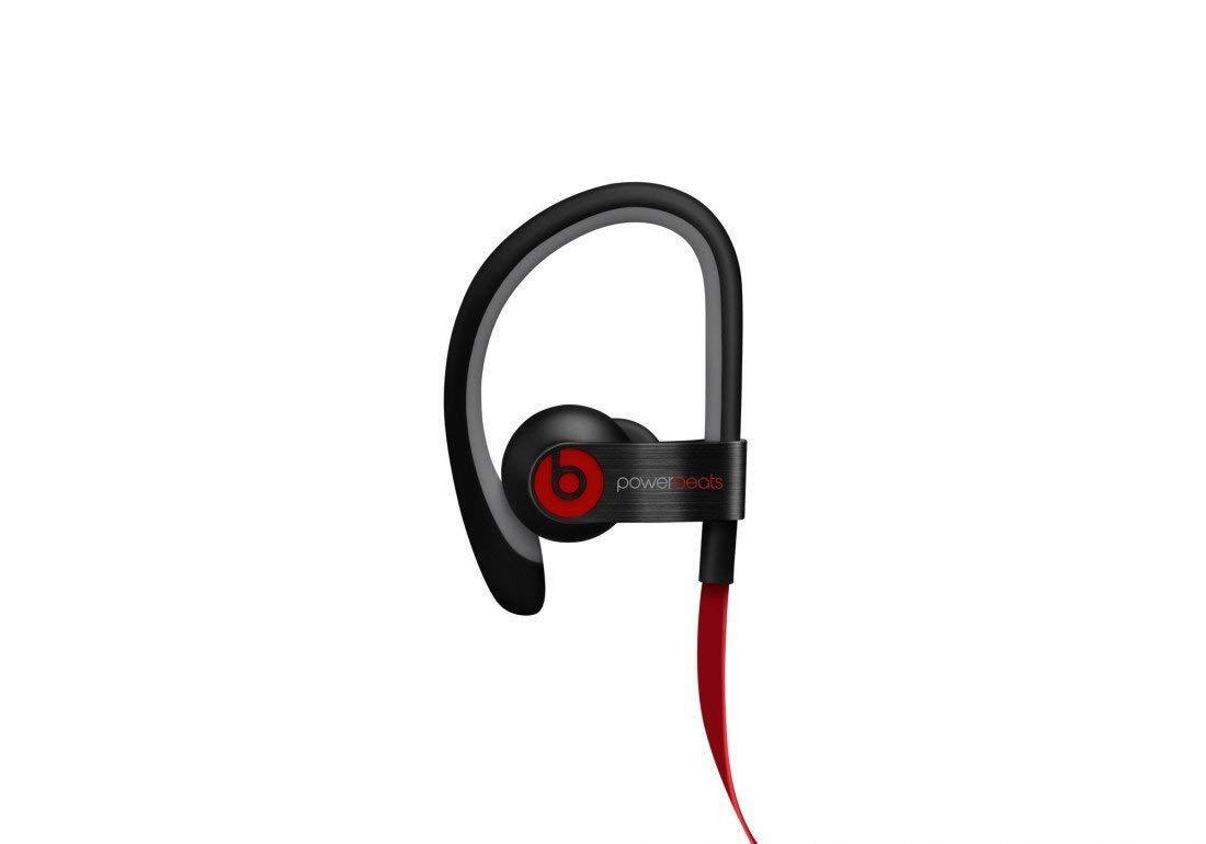 Apple Beats by Dr. Dre Powerbeats 2 Wired Bluetooth Headphones BLACK