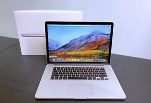 "2015 MacBook Pro 15"" Retina display"