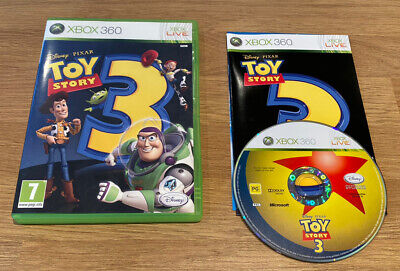 Toy Story 3: The Video Game (Microsoft Xbox 360, 2010)