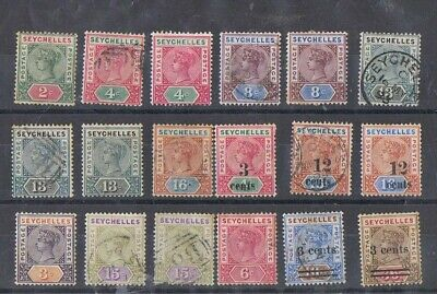 SEYCHELLES - Lot of old stamps
