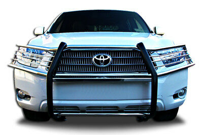 Full Grill Guard (Front Bumper Guard Protector T-304 SS Full Grill Guard for 2008-2010 Highlander  )