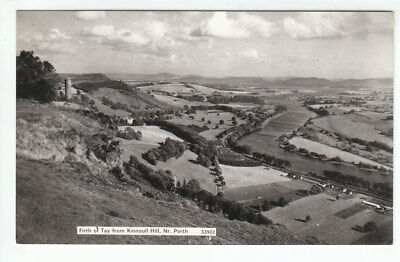 Firth Of Tay From Kinoull Hill Perth Perthshire Real Photograph 33902 Post Card