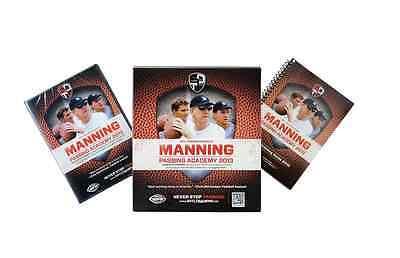 Manning Passing Academy DVD Quarterback Coaching Instructional Peyton Eli Archie