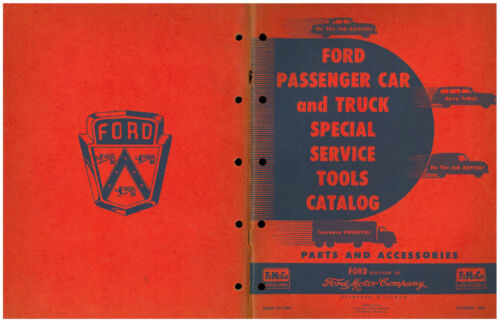 52 53 54 Ford & Ford Truck Specialty Tools Catalog FoMoCo FD-7382