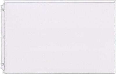 Storesmart Plastic Sheet Protector - 11 X 17 50pk Open Long Side Rmpt860-50
