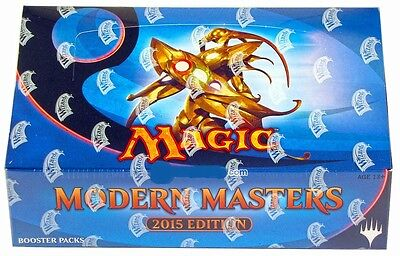 Magic The Gathering  Mtg  Modern Masters 2015 Factory Sealed 24 Pack Booster Box