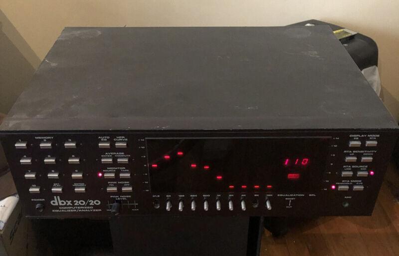 DBX 20/20 Computerized Equalizer/Analyzer with Rack Mounts