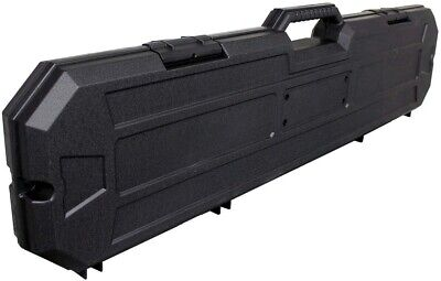 40 Black Hard Rifle Case Convoluted Foam Storage Hunting AR