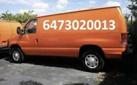 Small moving & Delivery, All GTA & Ontario 6473020013
