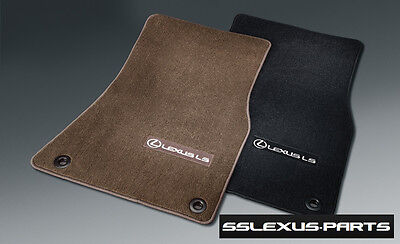 Lexus LS460 (2013-2015) (2WD/Short Wheel Base) 4pc CARPET FLOOR MATS (Black) OEM