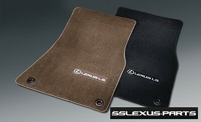 Lexus LS460 (2013-2015) (AWD) OEM Genuine 4pc CARPET FLOOR MATS (Brown)