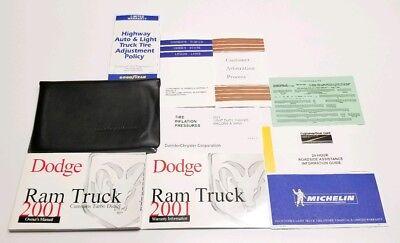 2001 DODGE RAM DIESEL 5.9L OWNERS MANUAL 2500 3500 LARAMIE ST SLT 4X4 RWD TRUCK