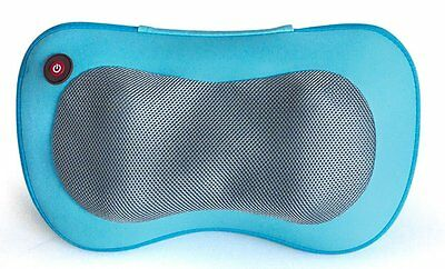 Shiatsu Kneading Back Neck Full Body Massager Cushion Pillow With Heat S7 Re02s