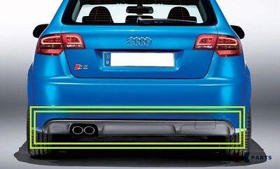 Audi S3 8P 2009-2013 4 Door Sportback Rear Towing Eye Cover Trim