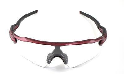 New in Box Oakley Sunglasses Radar EV Path Clear Metallic Red OO9208-6338