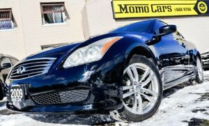2009 Infiniti G37X  Premium AWD! Htd Leather! ONLY $190/bi-weekl