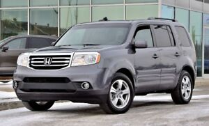 2015 Honda Pilot EX-L w/RES DVD CUIR 8 PASS AWD LEATHER ROOF DVD