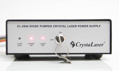 Crystalaser Diode Pumped Crystal Laser Power Supply Cl-2000 5927