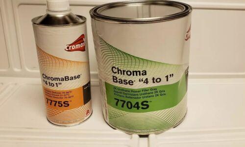 Cromax ChromaBase 4 to 1 7704s 2K Urethane gray Primer Filler Kit