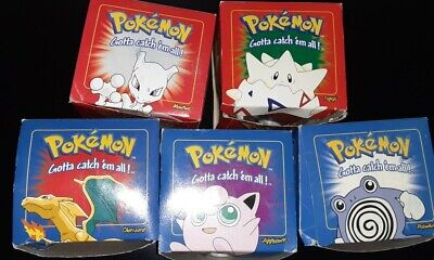 23k Gold Plated Pokemon cards in Pokeball - 1999 Burger King Limted Edition Lot