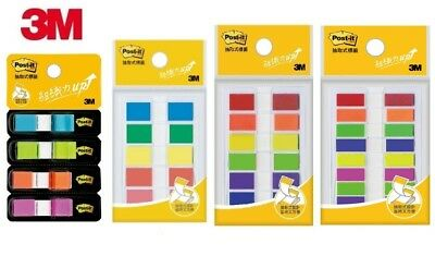 3m Post-it Flags Repositionable Bookmark Sticky Note Memo Index Colorful 4568