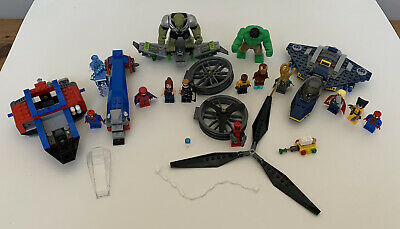 Lego Marvel Super Heroes Avengers 6868 Partial Set With Lots Of Mini Figures