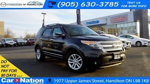 2013 Ford Explorer XLT| 4x4 |SUNROOF | REAR CAM | LEATHER