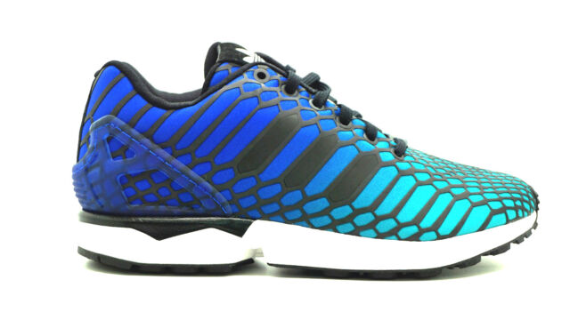 8984d6d7cd478 ... ADIDAS ZX FLUX XENO NAVY  CORE BLACK  WHITE AQ4534 SIZE.UK 8.5