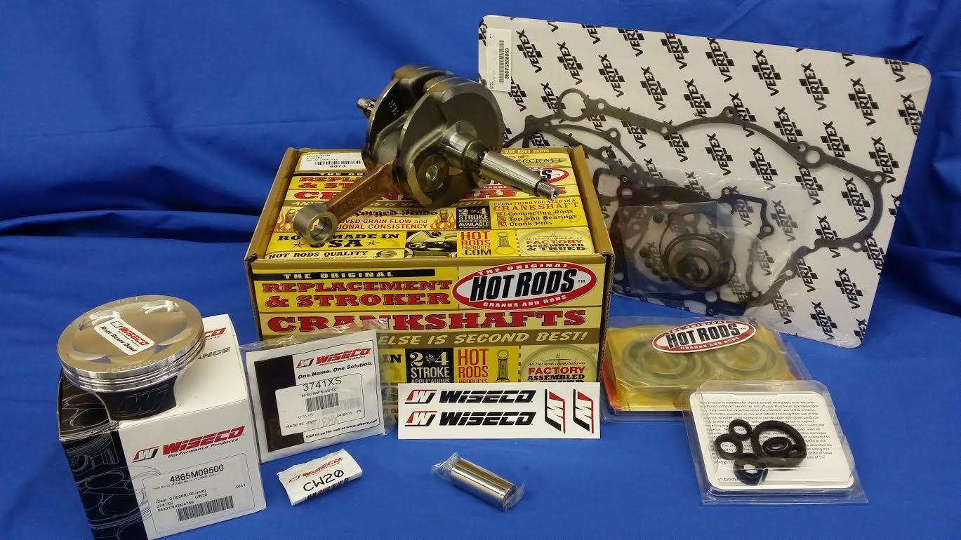 "Z KFX450 COMPLETE ENGINE /""MOTOR/"" GASKET KIT 08-14 KAWASAKI KFX450R"