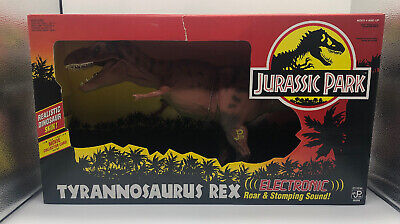 Jurassic Park JP.09 Electronic Tyrannosaurus Rex T-Rex NEW Mint Condition
