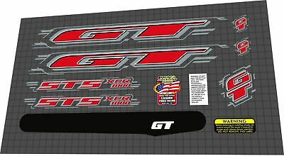 2000 GT STS XCR 1000DECAL SET