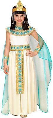 Ägyptische Gottheit Cleopatra Kinderkostüm NEU - Mädchen Karneval Fasching Verkl