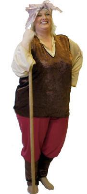 1940'S Land girl WARTIME Fancy dress all PLUS (1940's Land Girl Kostüm)