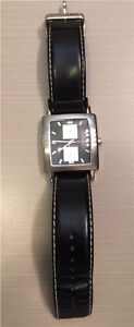 Kenneth Cole Black And Stainless Watch