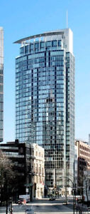 Furnished One Bedroom Downtown/ Coal Harbour