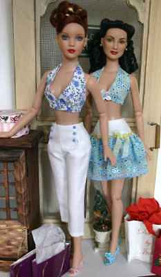 Flirty Fashions Doll Clothes Sewing Pattern for Tyler ,Tonner