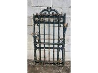 Reclaimed Ornate Wrought iron Gate