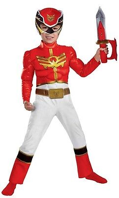 Red Ranger Power Rangers Megaforce Fancy Dress Halloween Toddler Child Costume