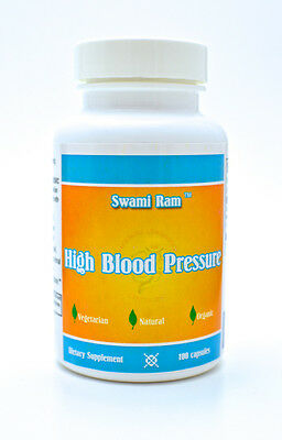 High Blood Pressure Control Capsules 100ct NATURAL ORGANIC HERBAL AYURVEDIC
