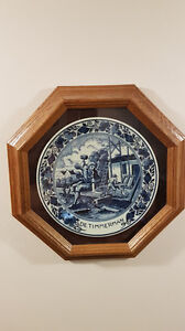 Various Collector Plates with frames