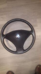 2006 BMW 530 E60 / E61 Driver side airbag with Steering Wheel
