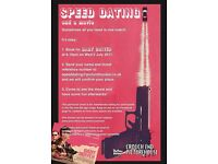 Speed dating and a movie